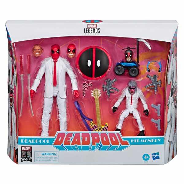 Marvel Legends Deadpool and Hit Monkey Exclusive Actionfiguren Set