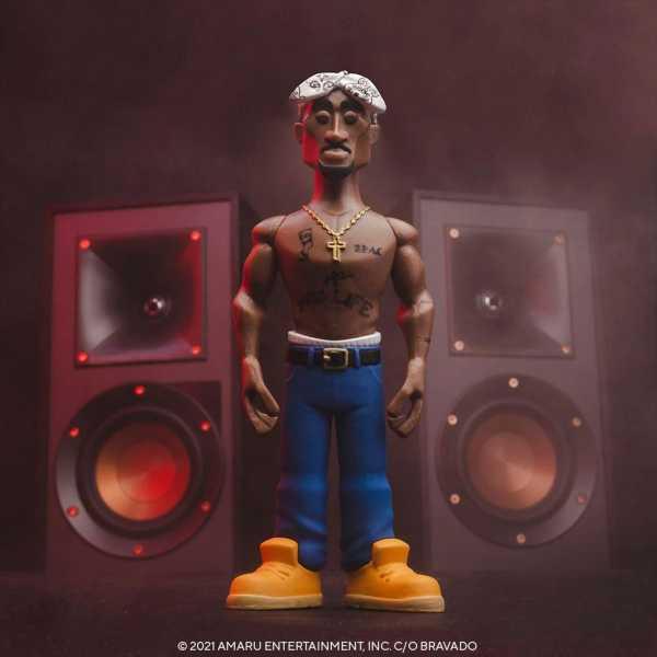 VORBESTELLUNG ! Tupac 5 Inch Vinyl Gold Figur