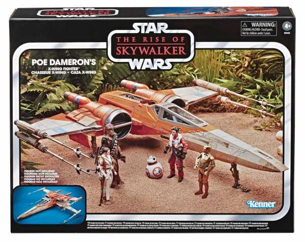 STAR WARS E9 VINTAGE POE DAMERON X-WING FIGHTER