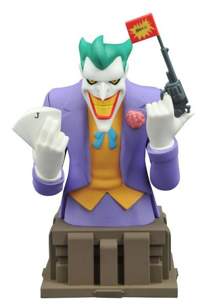 BATMAN ANIMATED SERIES JOKER BÜSTE