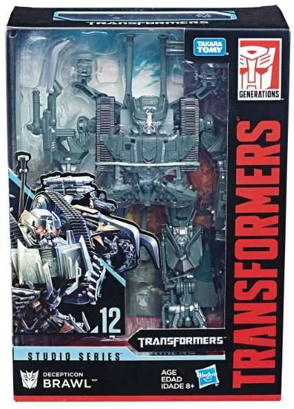 TRANSFORMERS GENERATIONS STUDIO SERIES VOYAGER CLASS BRAWL ACTIONFIGUR