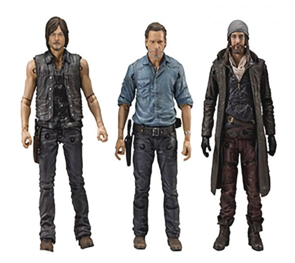 WALKING DEAD TV ALLIES DELUXE ACTIONFIGUREN-SET