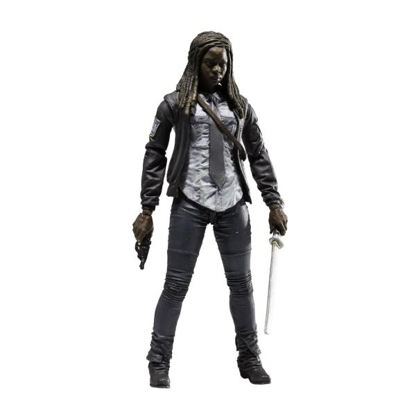 WALKING DEAD TV SERIES 9 CONSTABLE MICHONNE ACTIONFIGUR