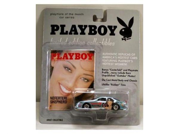 Playmate Of Month Car Series Neferteri Shepherd