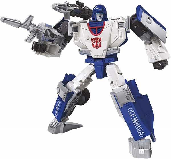 TRANSFORMERS GENERATIONS WAR FOR CYBERTRON: SIEGE DELUXE MIRAGE ACTIONFIGUR
