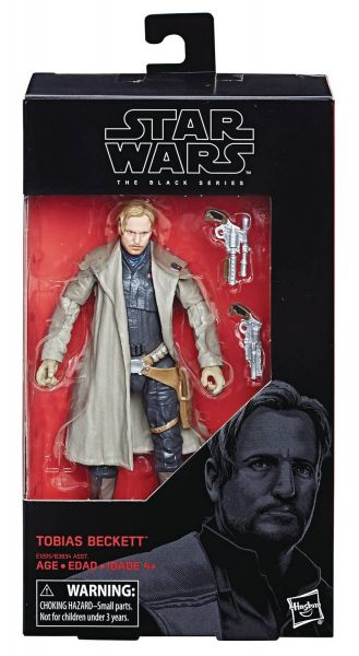 STAR WARS BLACK SERIES SOLO TOBIAS BECKETT ACTIONFIGUR