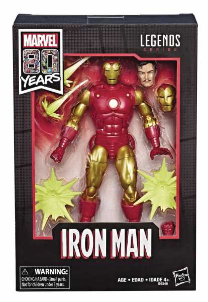 MARVEL LEGENDS 80TH ANN IRON MAN 6INCH ACTIONFIGUR