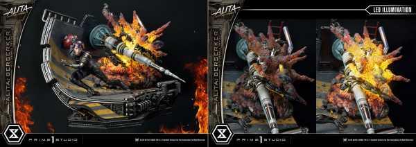VORBESTELLUNG ! Alita: Battle Angel 1/4 Alita Berserker Motorball Tryout 64 cm Statue