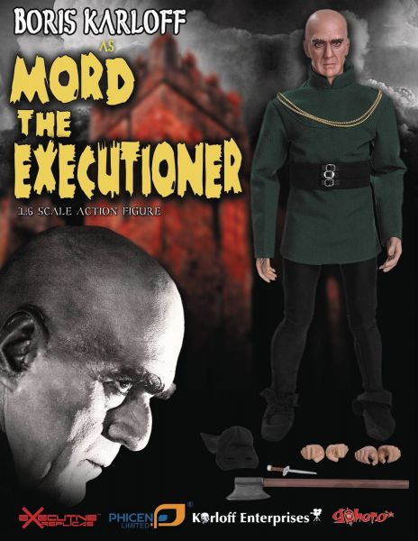 BORIS KARLOFF AS MORD THE EXECUTIONER 1/6 SCALE ACTIONFIGUR