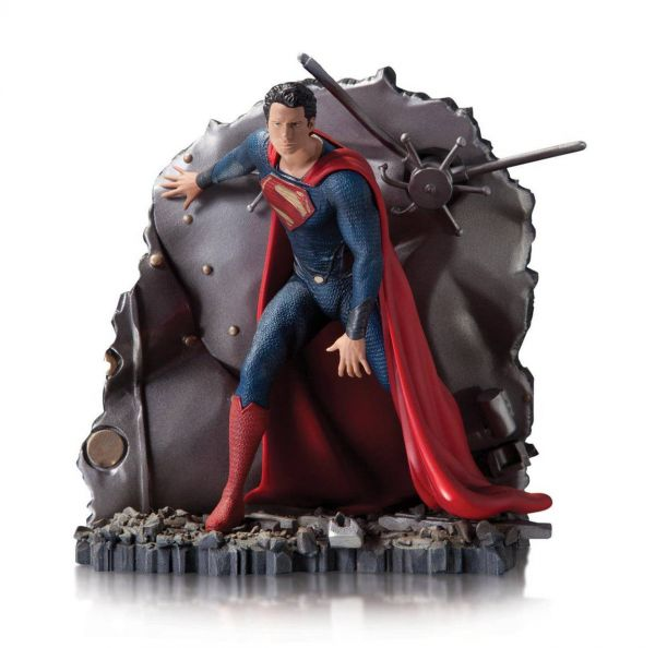 MAN OF STEEL 1:12 SCALE SUPERMAN VAULT STATUE