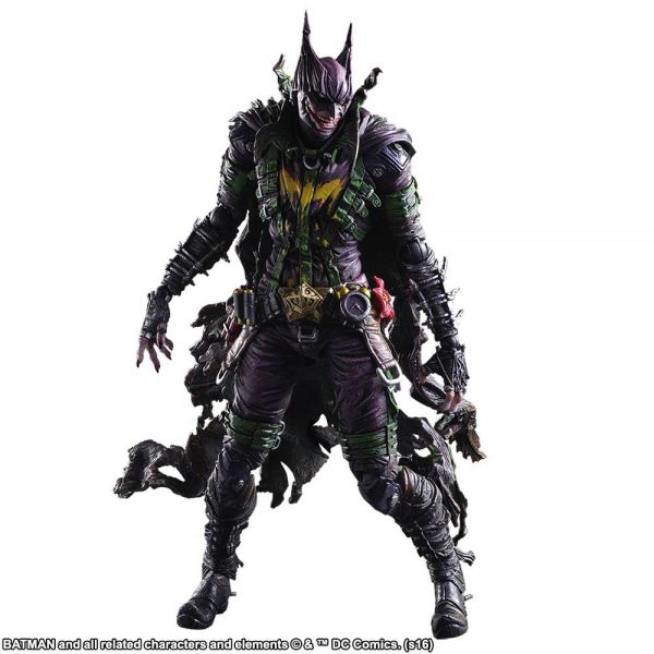 DC COMICS VARIANT PLAY ARTS KAI BATMAN ROGUES GALLERY JOKER ACTIONFIGUR