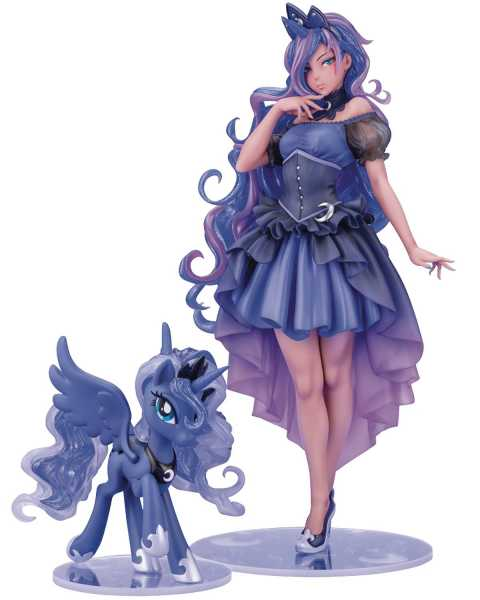 VORBESTELLUNG ! MY LITTLE PONY PRINCESS LUNA BISHOUJO STATUE