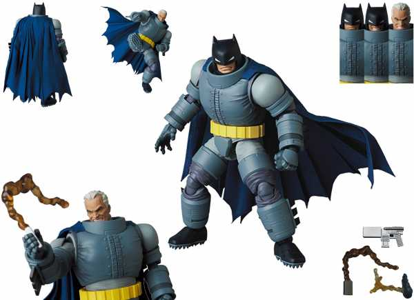 VORBESTELLUNG ! THE DARK KNIGHT RETURNS ARMORED BATMAN MAFEX ACTIONFIGUR