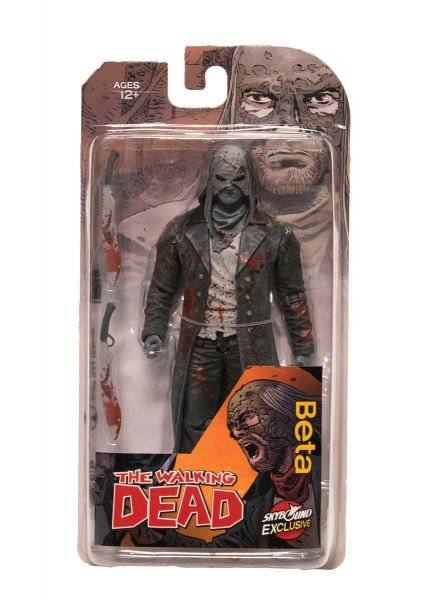 WALKING DEAD BETA ACTIONFIGUR (BLACK&WHITE BLOODY)