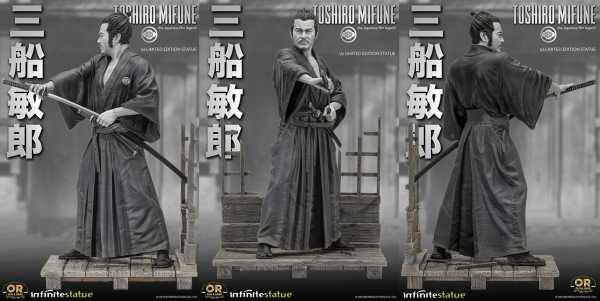 VORBESTELLUNG ! TOSHIRO MIFUNE 1/6 OLD & RARE RESIN STATUE