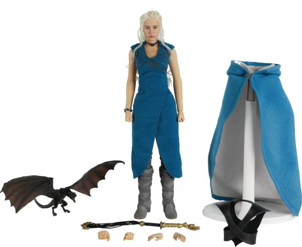 GAME OF THRONES DAENERYS TARGARYEN 1/6 SCALE ACTIONFIGUR
