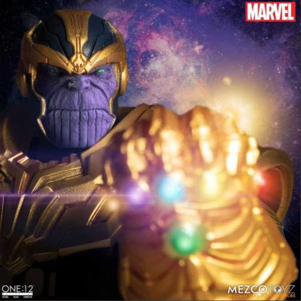 VORBESTELLUNG ! ONE-12 COLLECTIVE MARVEL THANOS ACTIONFIGUR