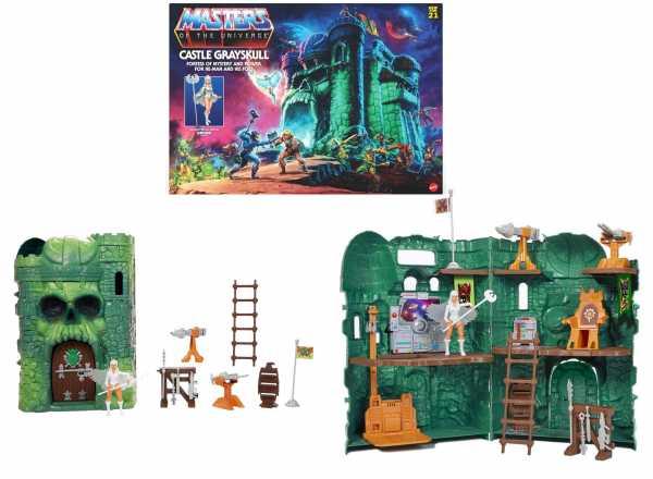 VORBESTELLUNG ! Masters of the Universe Origins 2021 Castle Grayskull Playset