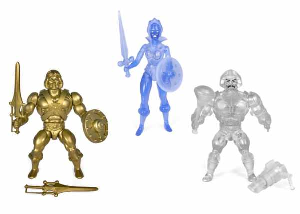 Masters of the Universe Vintage Collection Actionfiguren Extras Wave 3 Komplett-Set