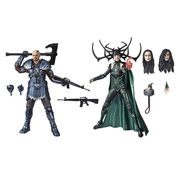 VORBESTELLUNG ! MARVEL LEGENDS 80TH ANN SKURGE / HELA 6INCH SET