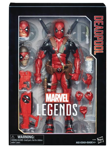 MARVEL LEGENDS 30cm DEADPOOL ACTIONFIGUR