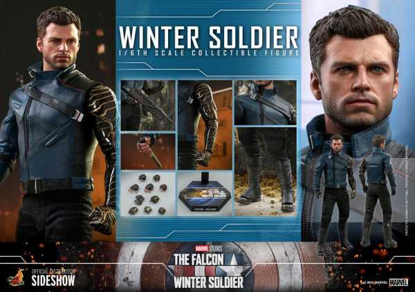 VORBESTELLUNG ! The Falcon and The Winter Soldier 1/6 Winter Soldier 30 cm Actionfigur