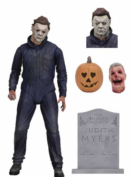 HALLOWEEN ULTIMATE MICHAEL MYERS 17,5 cm SCALE ACTIONFIGUR