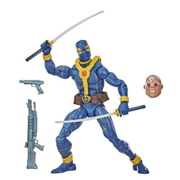 Deadpool Marvel Legends Blue Deadpool 6 Inch Actionfigur