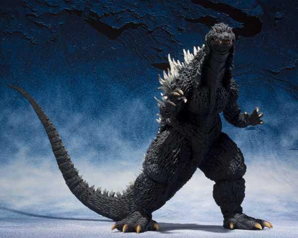 VORBESTELLUNG ! Godzilla S.H. MonsterArts Godzilla 2002 (vs. Mechagodzilla) 15 cm Actionfigur