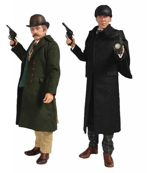 SHERLOCK ABOMINABLE BRIDE WATSON / HOLMES 1/6 2-PACK FIGUREN SIGNED EDITION