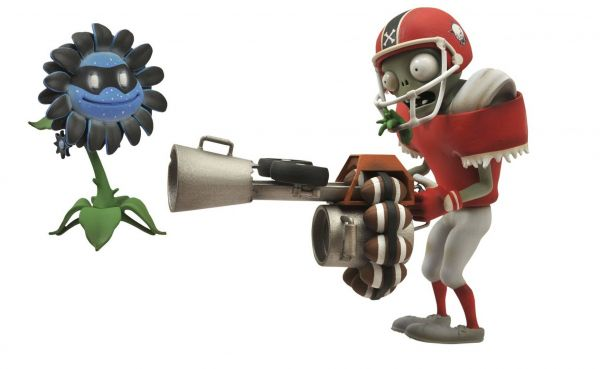 PLANTS VS ZOMBIES GW ALL STAR ZOMBIE ACTIONFIGUR