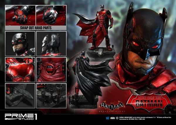 VORBESTELLUNG ! Batman Arkham Knight Justice League 3000 Batman 49 cm 1/5 Statue