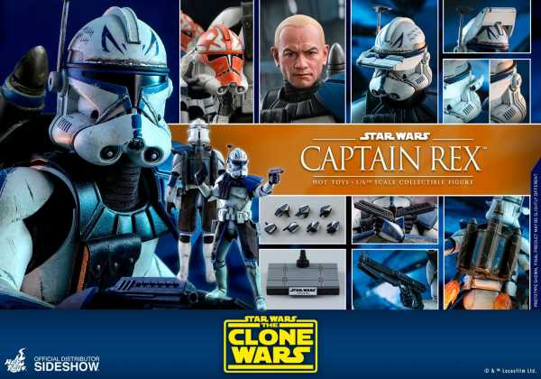 VORBESTELLUNG ! Star Wars The Clone Wars 1/6 Captain Rex 30 cm Actionfigur