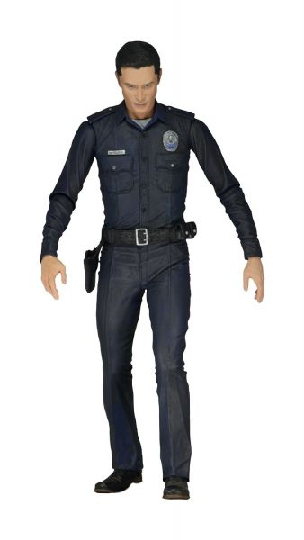 TERMINATOR GENISYS 17,5cm POLICE DISGUISE T-1000 ACTIONFIGUR