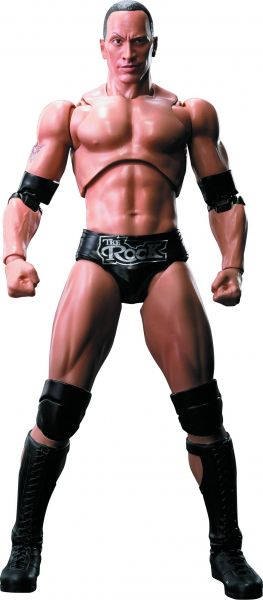 WWE THE ROCK S.H.FIGUARTS ACTIONFIGUR