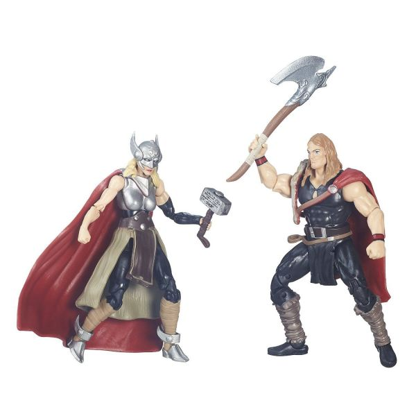 MARVEL LEGENDS SERIES DEFENDERS OF ASGARD 10cm ACTIONFIGUR 2-PACK