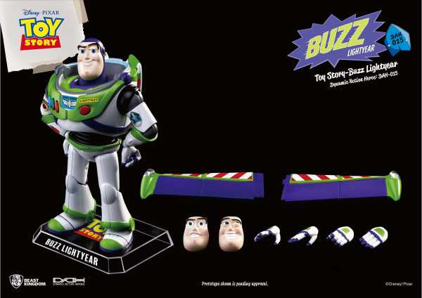 TOY STORY DAH-015 DYN 8-CTION HEROES BUZZ LIGHTYEAR PX ACTIONFIGUR