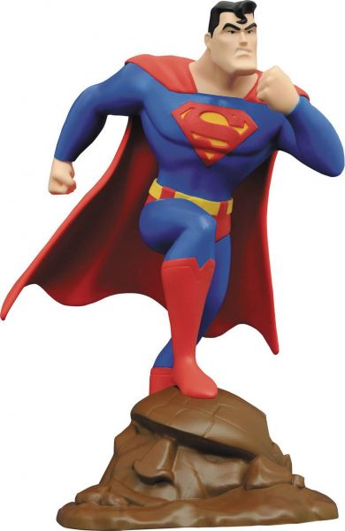 SUPERMAN ANIMATED GALLERY SUPERMAN PVC STATUE