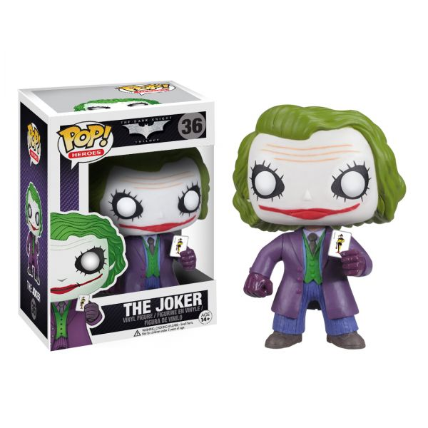 POP THE DARK KNIGHT TRILOGY THE JOKER defekte Verpackung