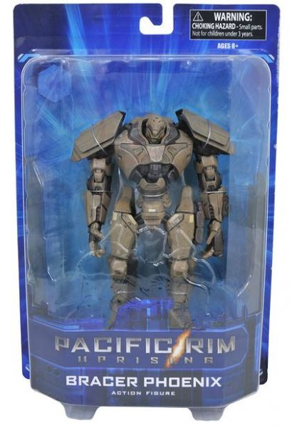"PACIFIC RIM 2 SELECT SERIES 1 BRACER PHOENIX TOYS ""R"" US EXCLUSIVE ACTIONFIGUR"