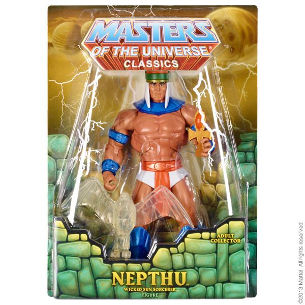 Masters of the Universe® Nepthu ACTIONFIGUR