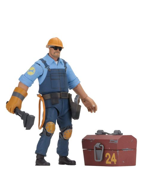 TEAM FORTRESS SERIES 3.5 BLU 17,5 cm SCALE ENGINEER ACTIONFIGUR