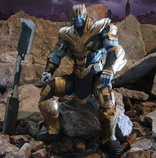 MARVEL SELECT AVENGERS ENDGAME THANOS DISNEY EXCLUSIVE ACTIONFIGUR