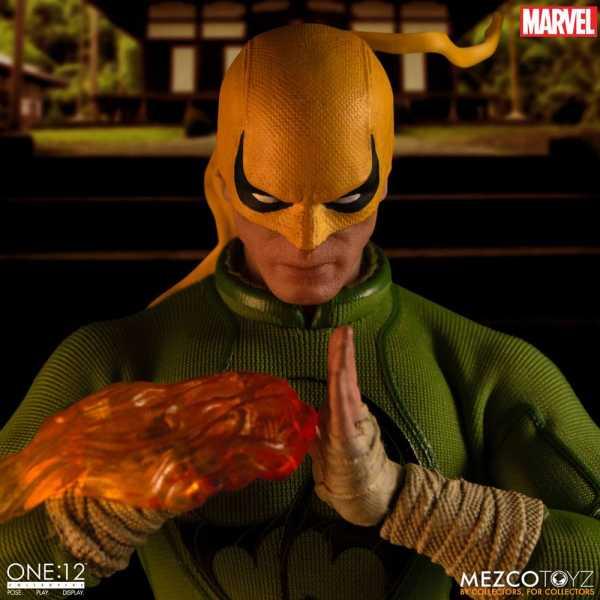 VORBESTELLUNG ! ONE-12 Marvel Actionfigur 1/12 Iron Fist 17 cm