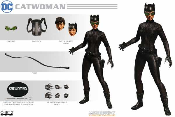ONE-12 COLLECTIVE DC CATWOMAN ACTIONFIGUR