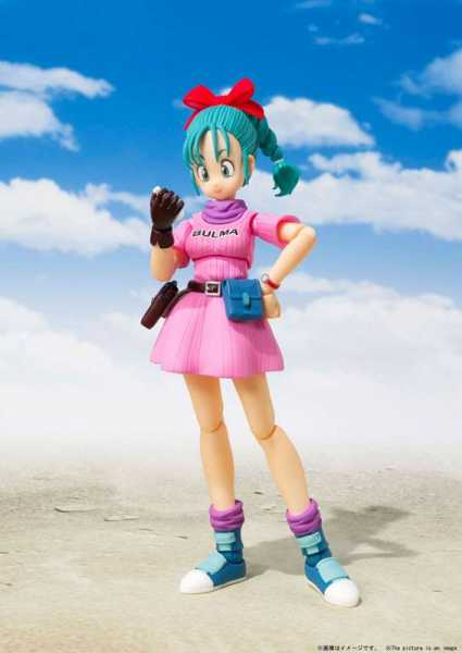 DRAGON BALL BULMA ADVENTURE BEGINS S.H. FIGUARTS ACTIONFIGUR