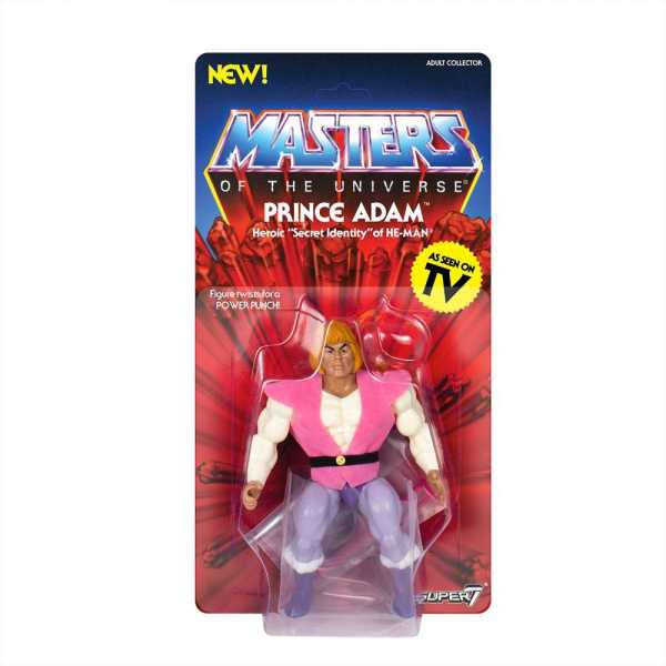 MASTERS OF THE UNIVERSE VINTAGE WAVE 3 PRINCE ADAM ACTIONFIGUR