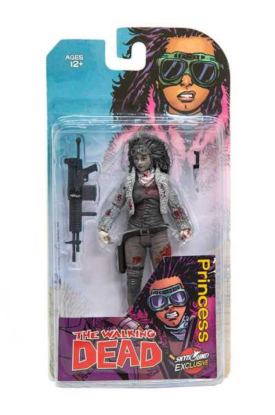 WALKING DEAD PRINCESS ACTIONFIGUR (B&W BLOODY)