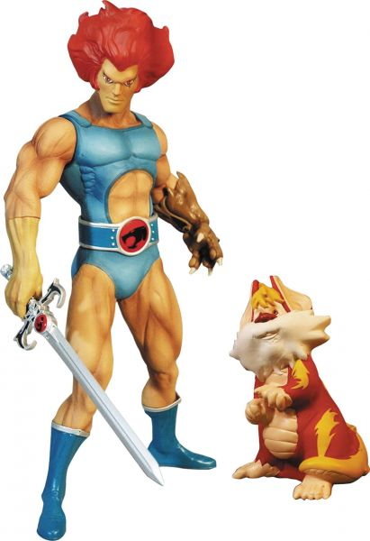 THUNDERCATS 35cm MEGA-SCALE LION-O WITH SNARF ACTIONFIGUR