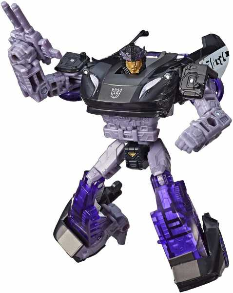 TRANSFORMERS GENERATIONS WAR FOR CYBERTRON: SIEGE DELUXE BARRICADE ACTIONFIGUR